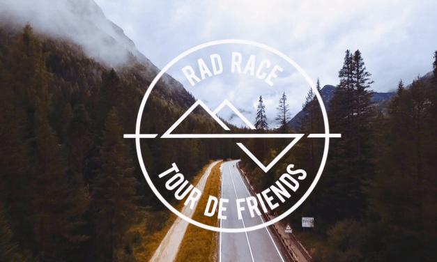 Rad Race, Tour de friends highlights – Film