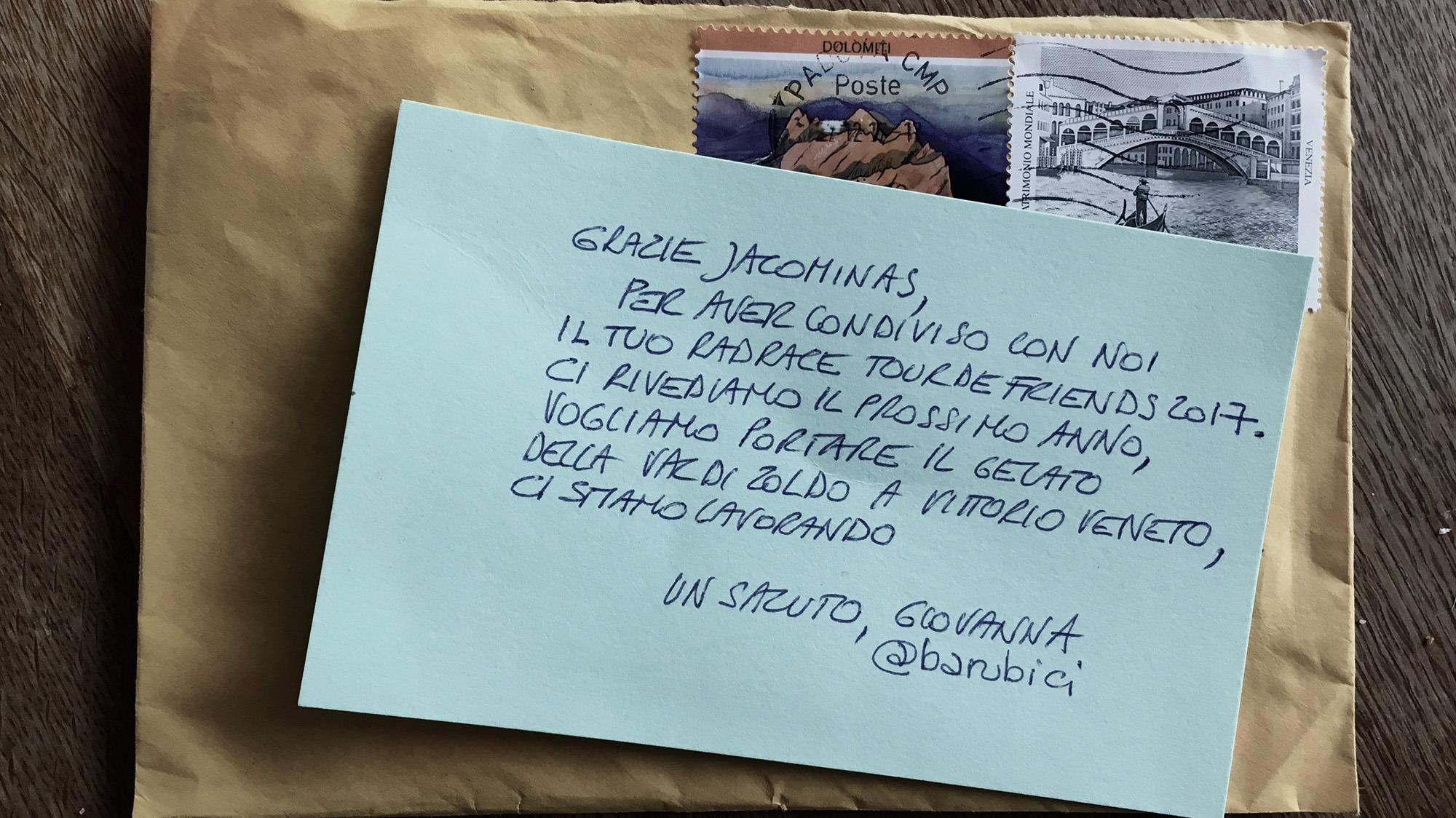 Ein Brief Aus Italien Jacominasenkelde